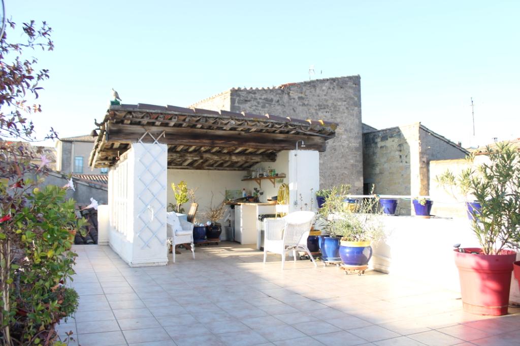 PHOTO1 - Vente d'une grande et belle maison avec terrasse à Pézenas .
