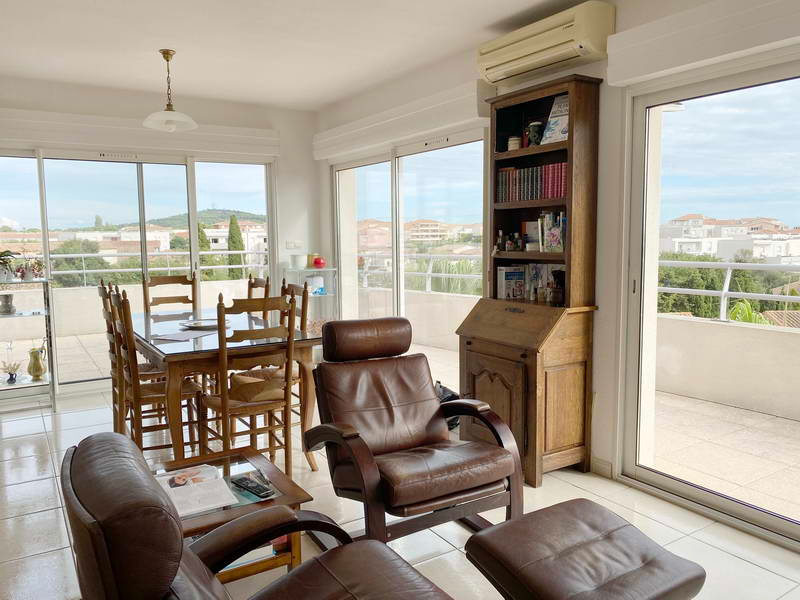PHOTO1 - VENTE Appartement Agde, dernier étage, 3 pièces, terrasse, garage à AGDE .