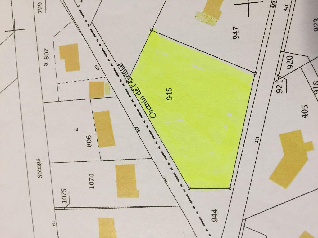 Terrain à vendre - Terrain Mur De Sologne 1843 m2