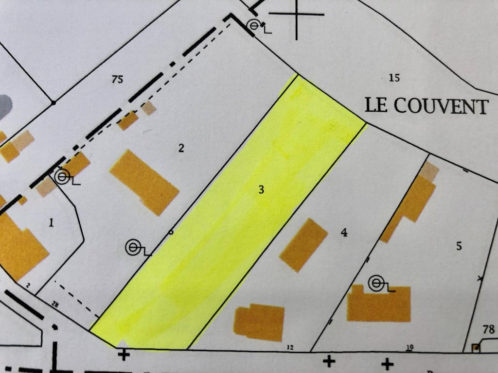 Terrain 1847 m² - MILLANCAY